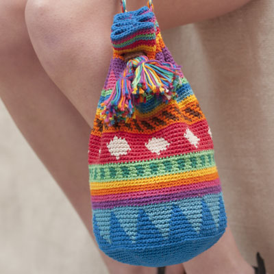 Haakpatroon Tapestry Tas Haken In Ibiza Style Workshops Haakpatronen