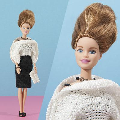 haakpatroon, barbie, designer, top, clutch, zilver, haken, scheepjes, Lizzy,