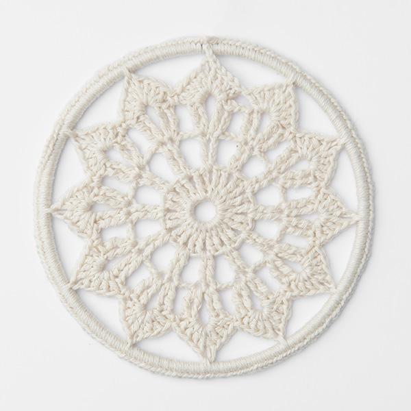 Haakpatroon Mandala Dromenvanger Katoen Ring Ibiza Crochet