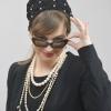 haarnetje, zwart, parels, gehaakt, katoen, klassiek, chic, Grace Kelly, crochet, black, cotton, Scheepjes, gemerceriseerd