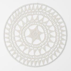 dromenvanger 1. dreamcatcher, ecru, ring, gehaakt, haakpatroon