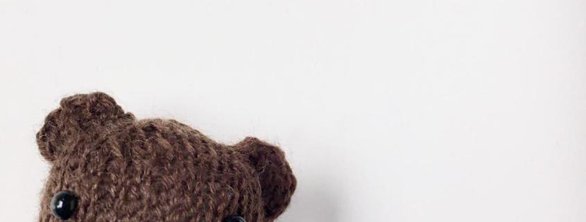breien, gebreid, wol, beertje, breiles, bruine beer, knuffel
