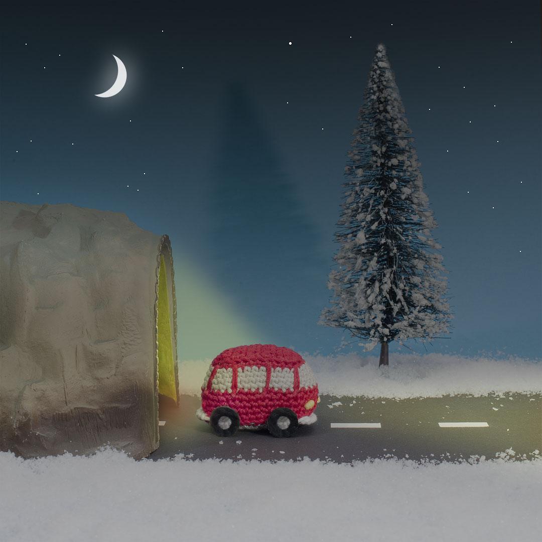 haakpatroon VW-busje, instant download, katoen, amigurumi